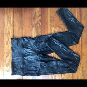 Spanx Leather Leggings